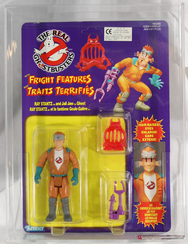 1988 - KENNER - REAL GHOSTBUSTERS -SERIES 3 - FRIGHT FEATURES - RAY STANTZ - CANADIAN CARD - AFA 80+ NM