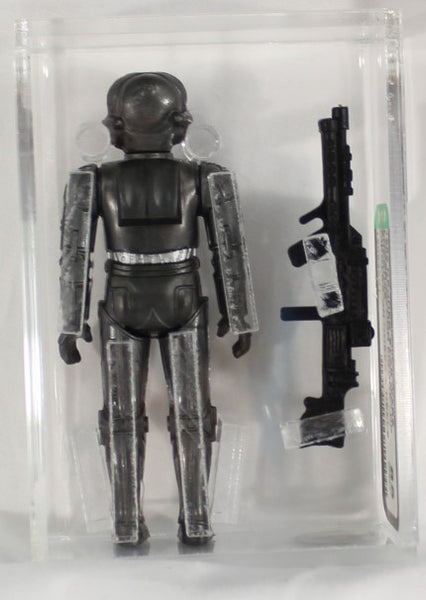 1982 - KENNER - STAR WARS - LOOSE ACTION FIGURE/HK - ZUCKUSS - CIRCLES ON KNEES AND HEELS - AFA 85 NM+