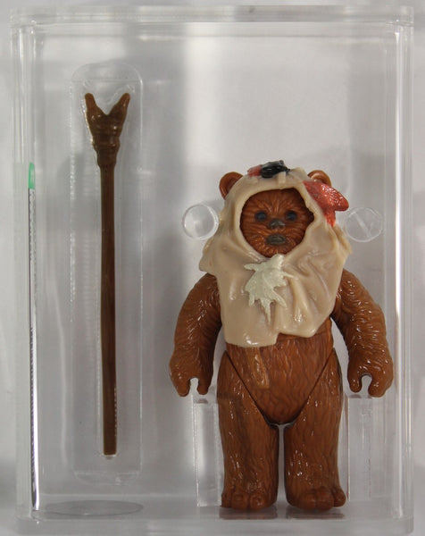 1984 - KENNER - STAR WARS - LOOSE ACTION FIGURE - PAPLOO - AFA 80+ NM