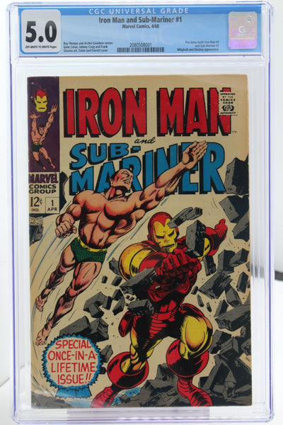 Iron Man and Sub-Mariner #1 - International Comic Exchange
