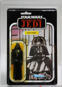 1984 KENNER STAR WARS ROTJ 77 BACK-A DARTH VADER AFA - 85 Y-NM+
