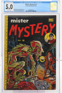 Mister Mystery #2 - CGC 5.0 - 1951 - Golden Age