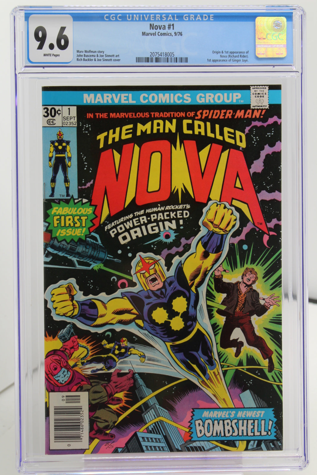 Nova #1 - International Comic Exchange