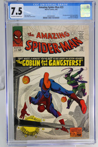 Amazing Spider-Man #23 CGC 7.5, 3rd Appearance Green Goblin
