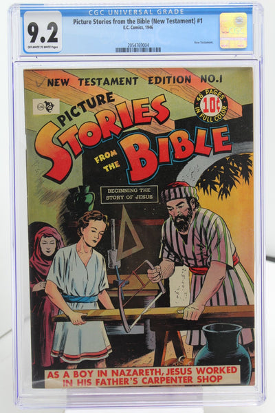 Picture Stories from the Bible (New Testament) #1 - International Comic Exchange
