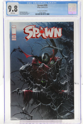 Spawn #299 - Fan Expo Canada Edition CGC 9.8 White Pages