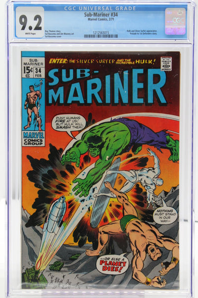 Sub-Mariner #34 - International Comic Exchange