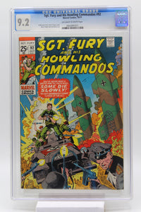 Sgt. Fury and His Howling Commandos #92 CGC 9.2