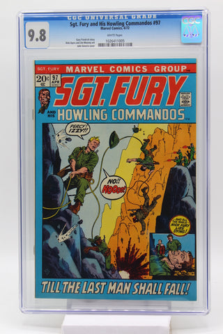 Sgt. Fury and His Howling Commandos #97 CGC 9.8 White Pages