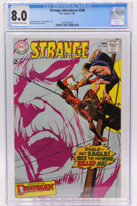 Strange Adventures #208 CGC 8.0 Neal Adams