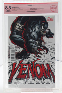 Venom #1 (Signed) CBCS 8.5 Verified Sig, Rick Remender