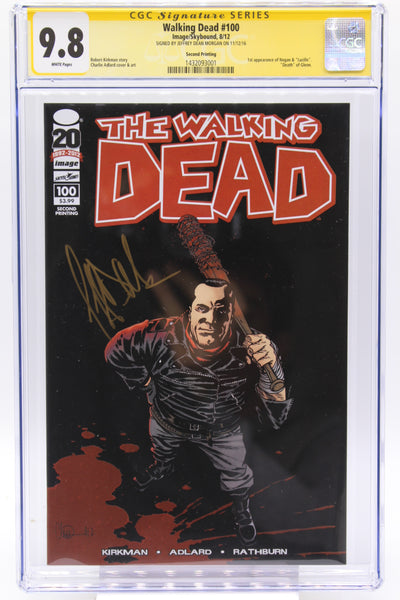 Walking Dead #100 CGC 9.8 White Pages