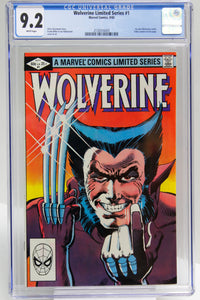 Wolverine Limited Series #1 CGC 9.2 White Pages