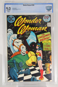 Wonder Woman #208 CBCS 9.0, OW/W Pages