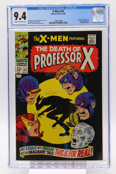 X-Men #42 CGC 9.4, Tough in High Grade