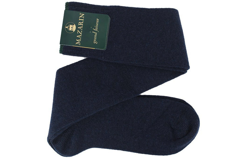 Navy blue - Wool & Cashmere