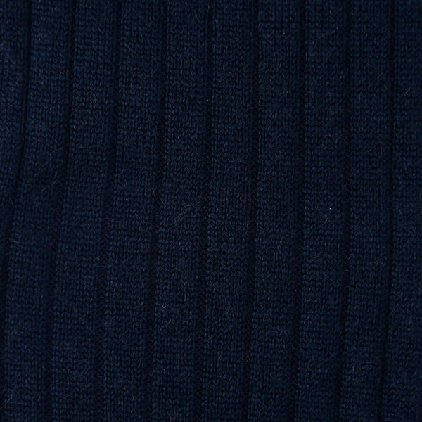 Navy blue - super-durable Wool