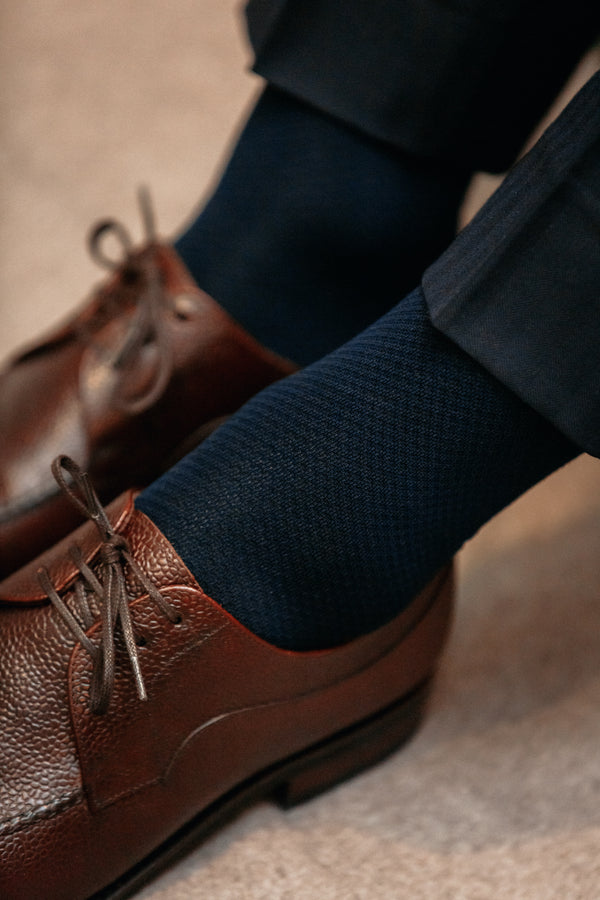 Navy Blue - Compression socks