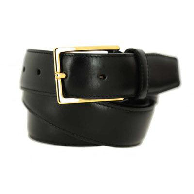 Black golden buckle