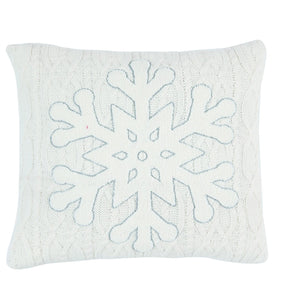 Knit Embroidery Pillow