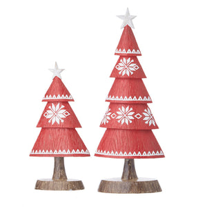 Nordic Trees set of 2