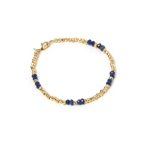Amazon Gold and Lapis Lazuli Bracelet
