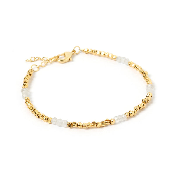 Amazon Gold and Moonstone Bracelet