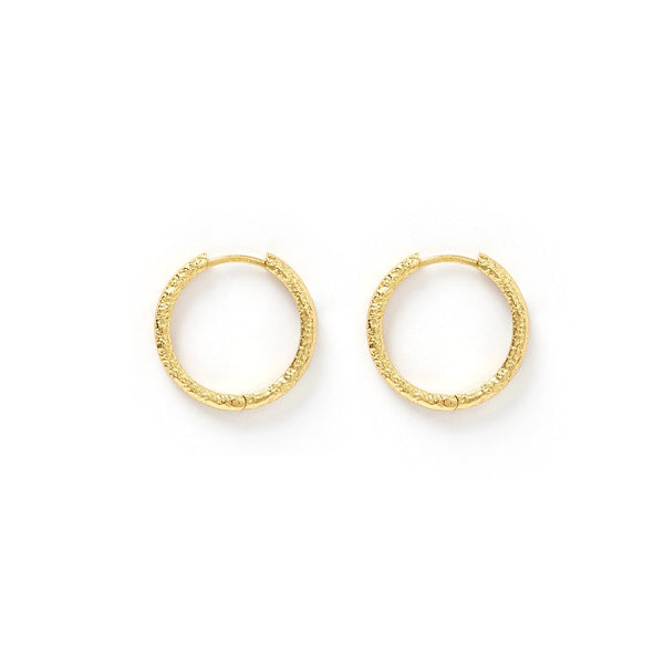Arabella Gold Hoop Earrings