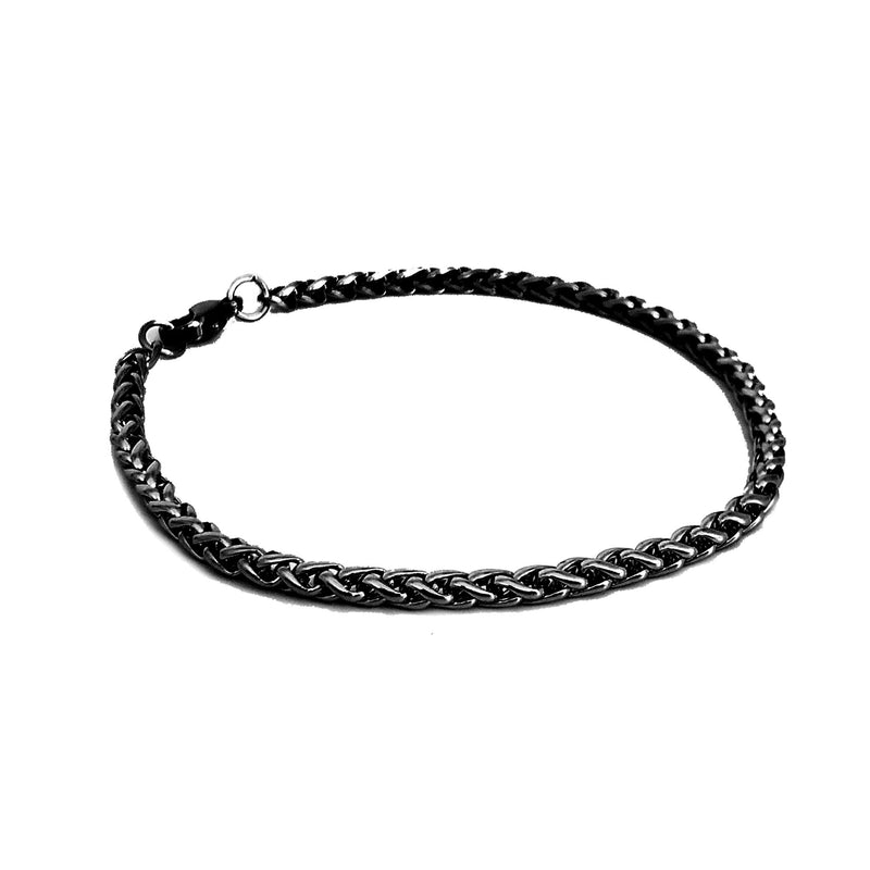 Jeep Men's Black Bracelet