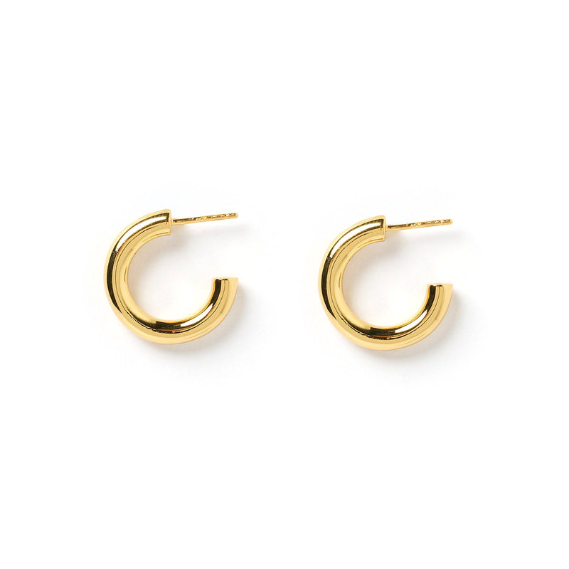 Bobbi Gold Hoop Earrings