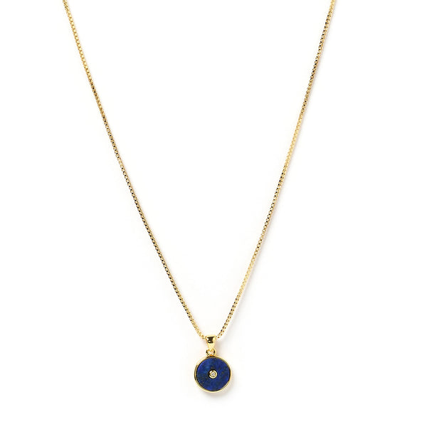 Bohdi Gold and Lapis Lazuli Necklace