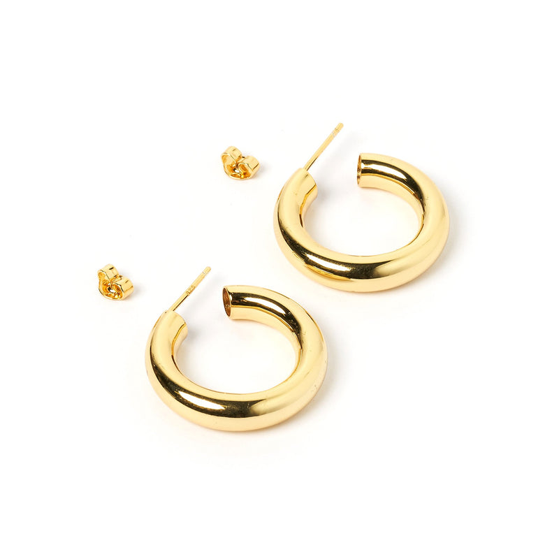 Emmi Gold Hoop Earrings