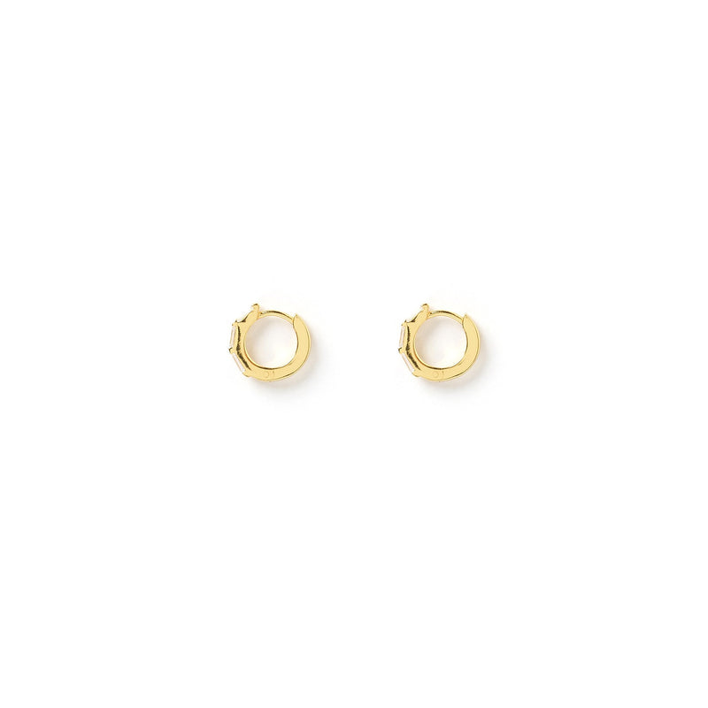 Holi Gold Huggie Earrings