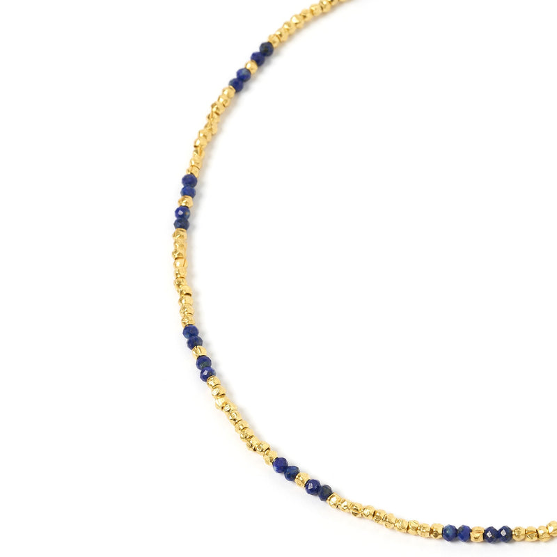 Iggy Gold and Lapis Lazuli Necklace