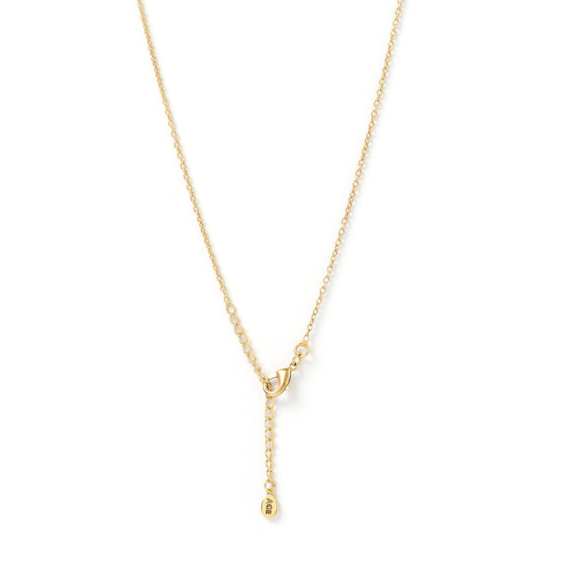 Remi Gold and Stone Pendant Necklace