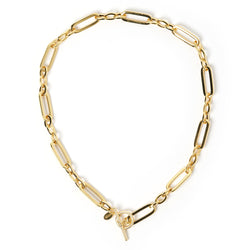 Rue Gold Necklace
