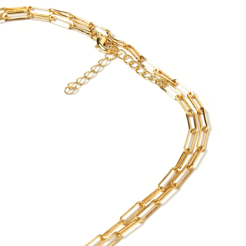 Valencia Gold Stacking Chain - Large