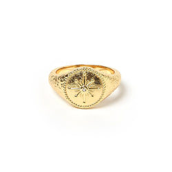 Wandering Star Gold Ring