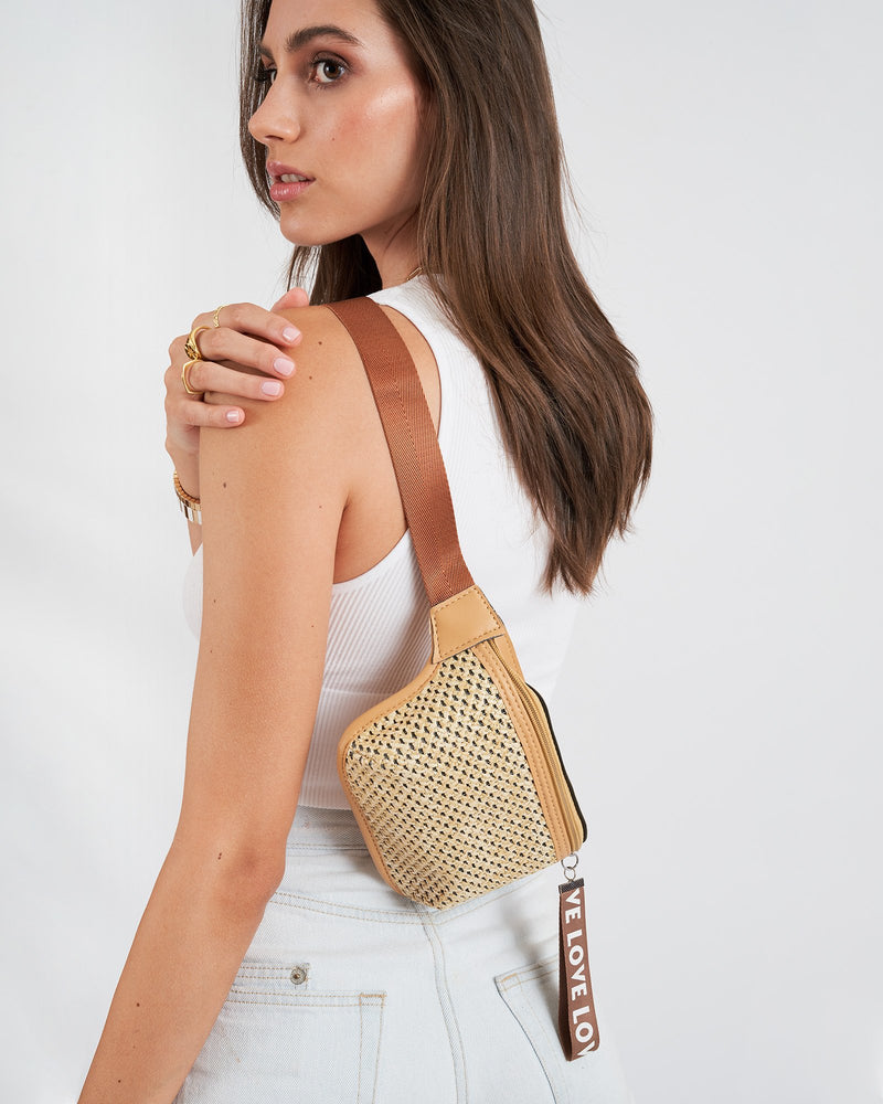 Lover Woven Bumbag
