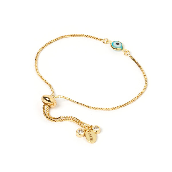 Ora Gold Evil Eye Bracelet