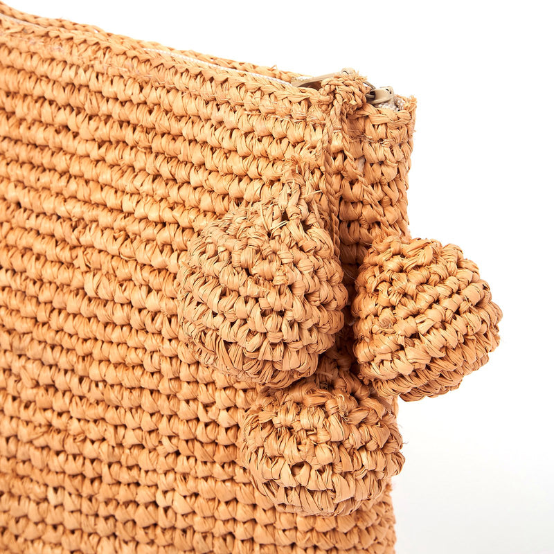 Tiana Woven Small Bag - Natural