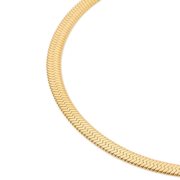 Samara Gold Snake Chain Necklace
