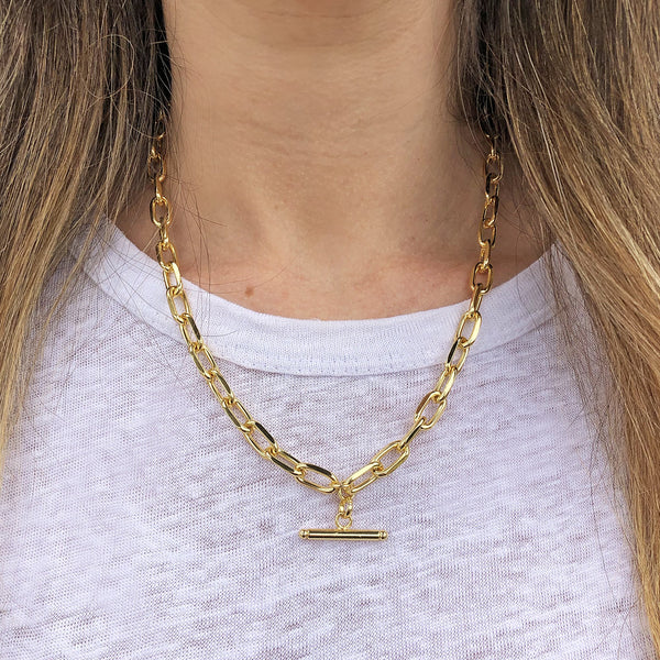 Zayne Gold Necklace