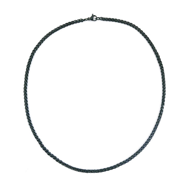 Benz Men's Black Necklace