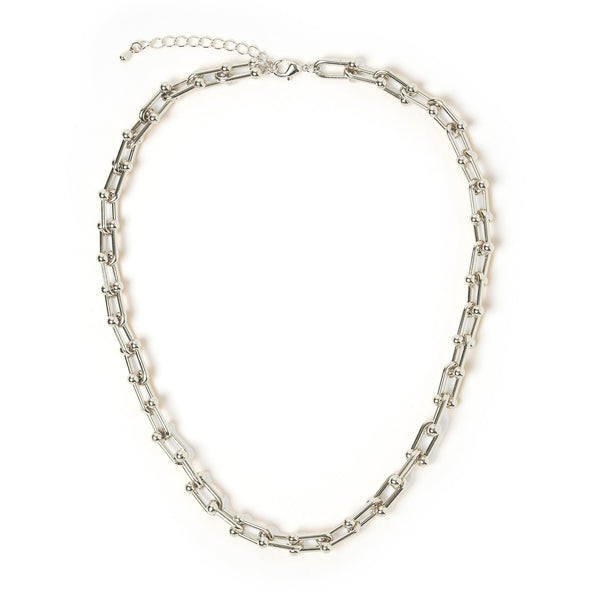 Kane Silver Necklace