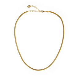 Sylvia Gold Snake Chain Necklace