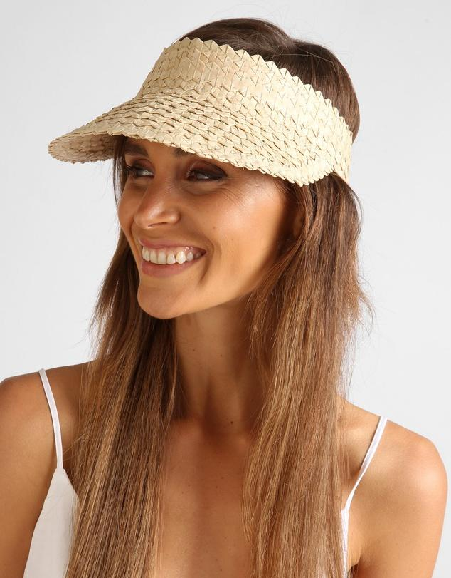Solstice Sun Visor - Light Natural