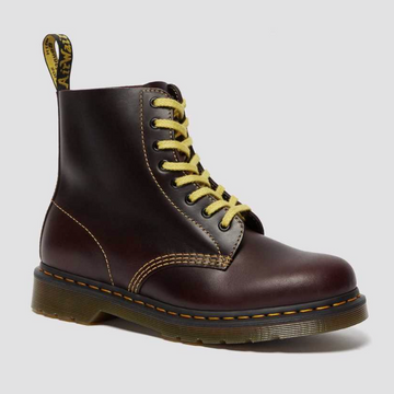 Dr Martens - 1460 Pascal Atlas Leather Boots - Oxblood