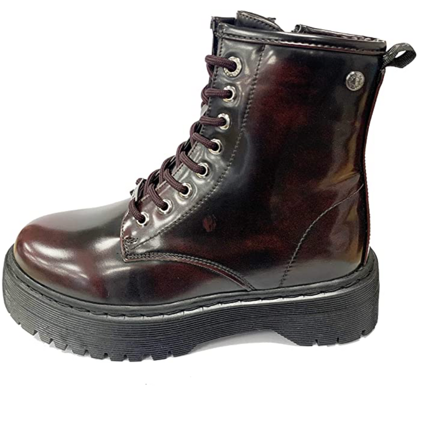 Refresh - 725418 - Hole Platform Boots - Bordeaux