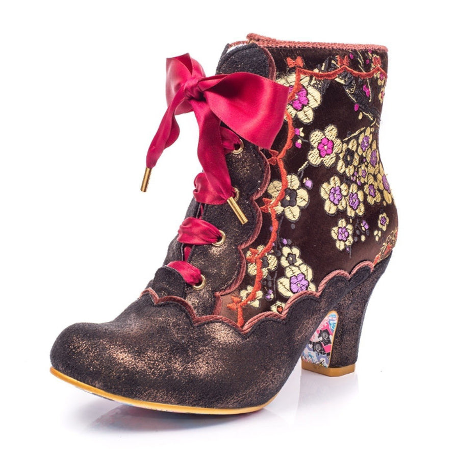 Irregular Choice - Rumour Has It - Brown